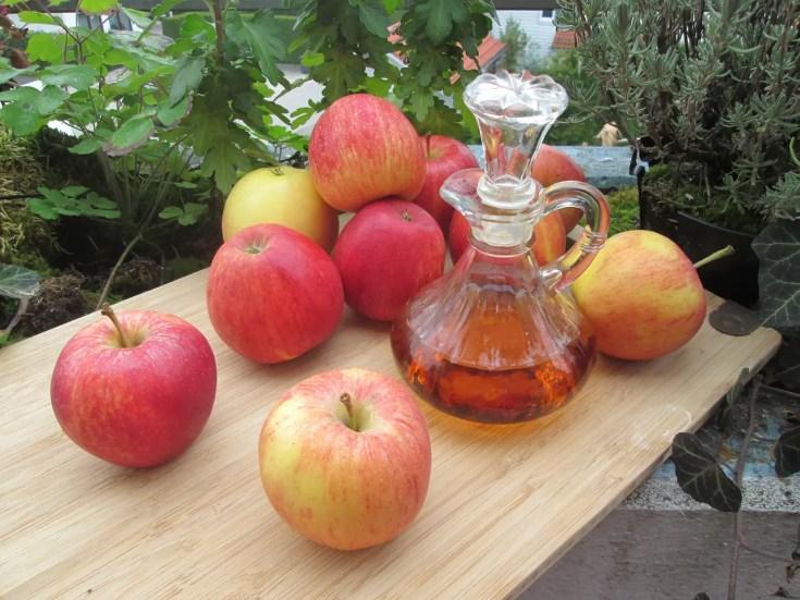 חומץ תפוחים לשיער