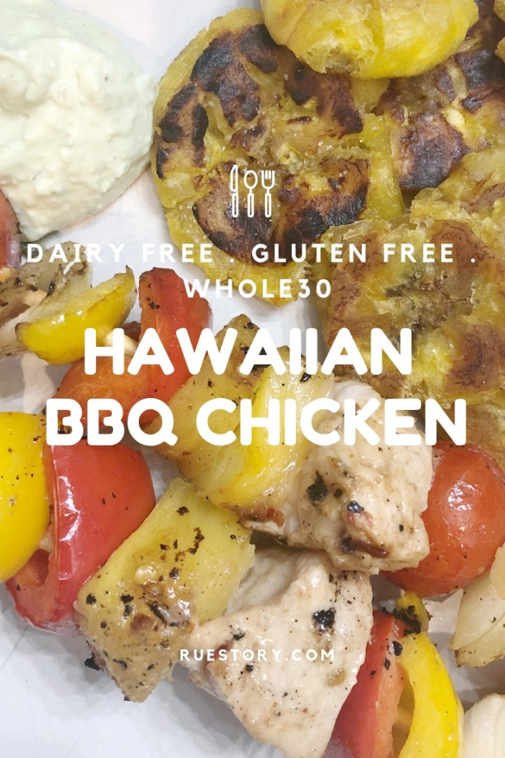 Hawaiian Chicken Skewers