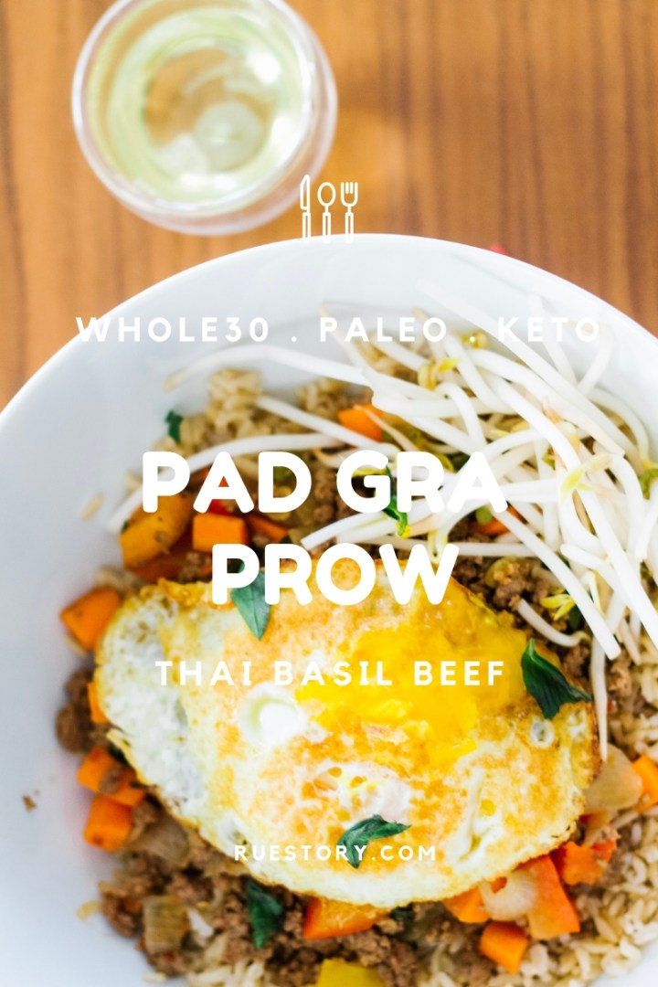 Pad Gra Prow (Thai Basil Beef)