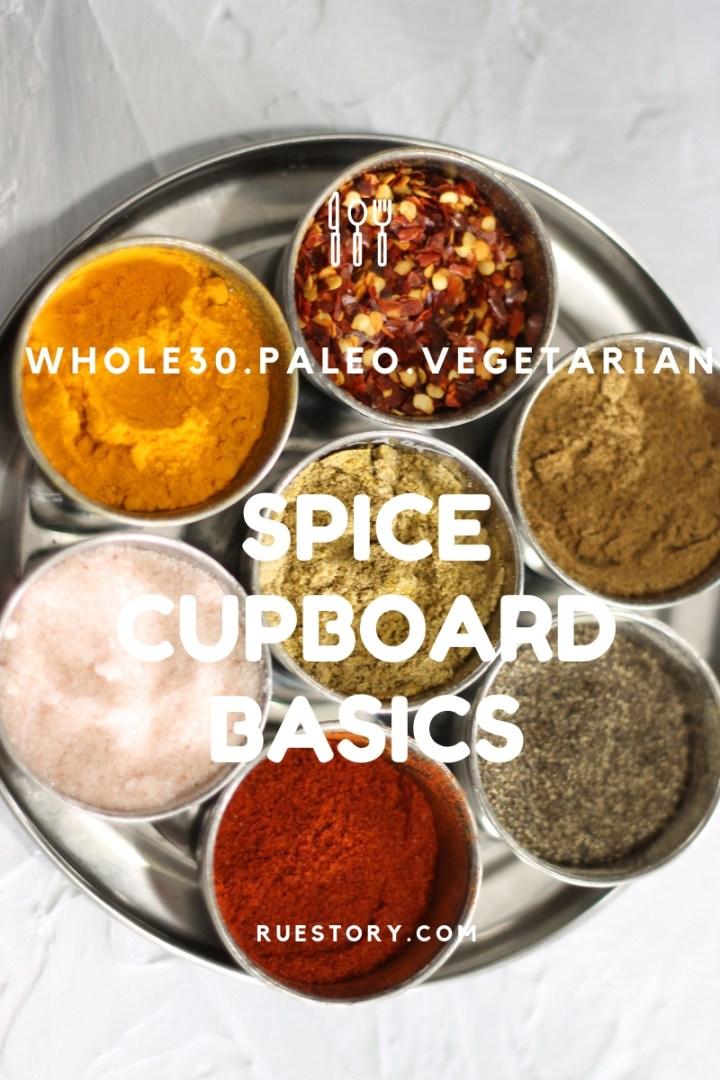 My Spice Cupboard Basics