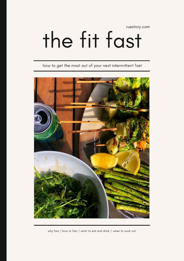 Intermittent Fasting (IF) Basics (and a free download)