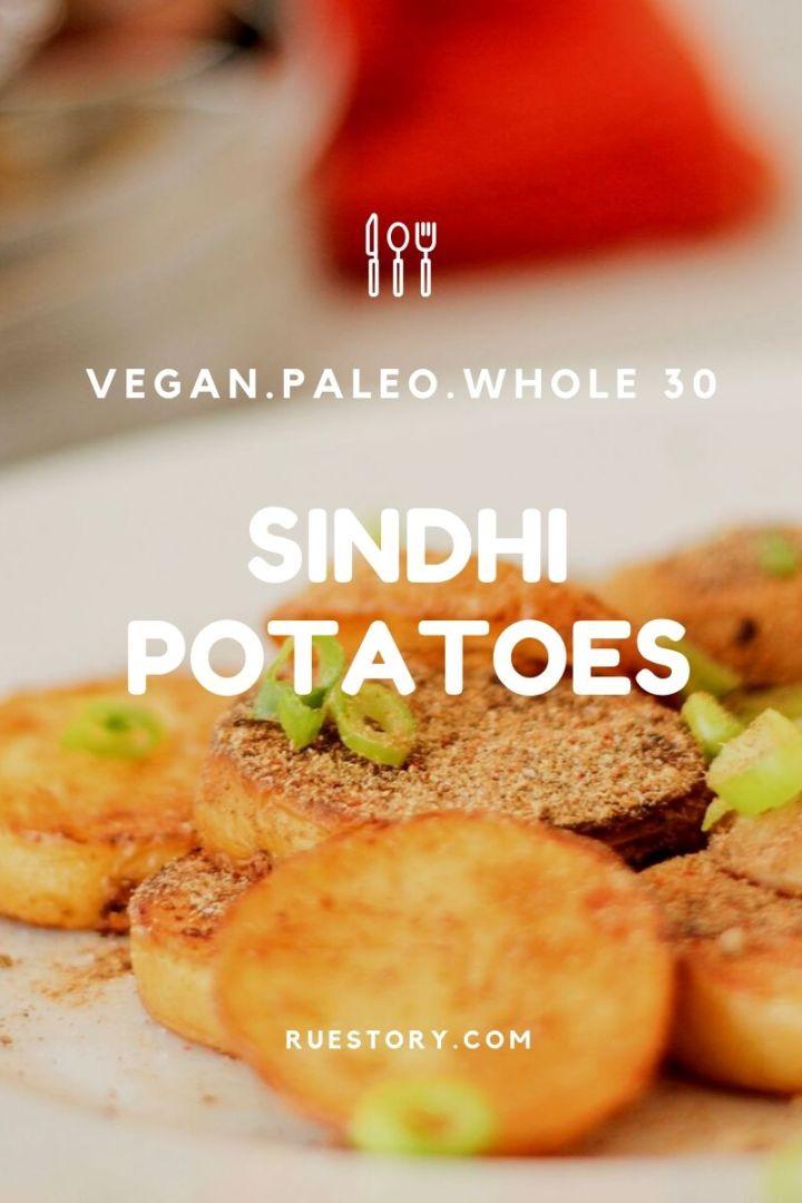 Sindhi Potatoes