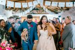 Vibrant Bougainvillea-Infused California Wedding with Dogs That Steal the Show