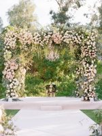 Luxe Santa Fe Wedding With a Lush Floral Chuppah