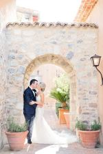 Desert Oasis Wedding with a Magical Berta Gown