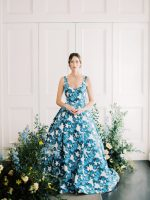 Spring Wedding Inspiration with a WOW Floral Gown