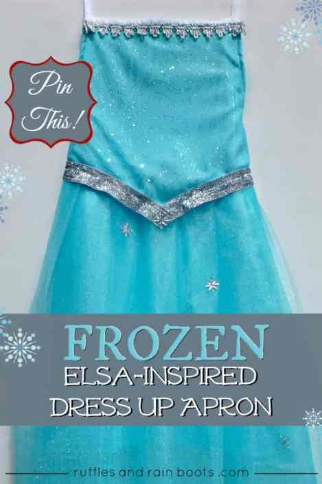 Disney-Frozen-inspired-Princess-Elsa-dress-up-apron