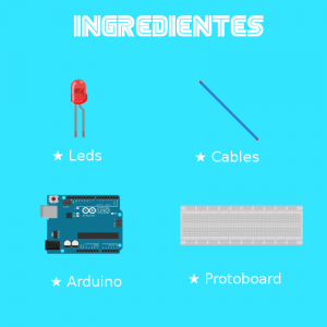 Ingredientes Led Arduino