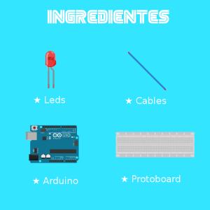 Ingredientes Led Arduino