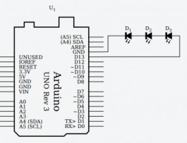 circuito en serie con Arduino