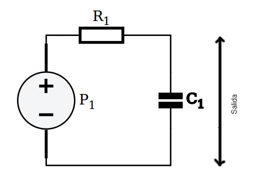 Circuito filtro paso bajo