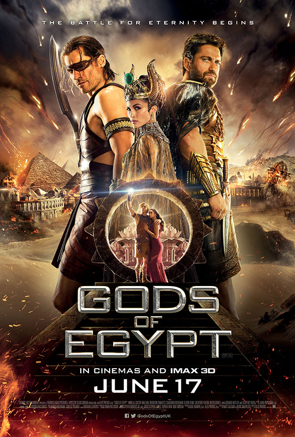 The Rufus Project Redeeming Features Cast: Gods of Egypt (2016)