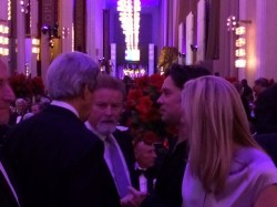 Rufus with John Kerry and Don Henley