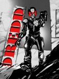 Judge Dredd b-w