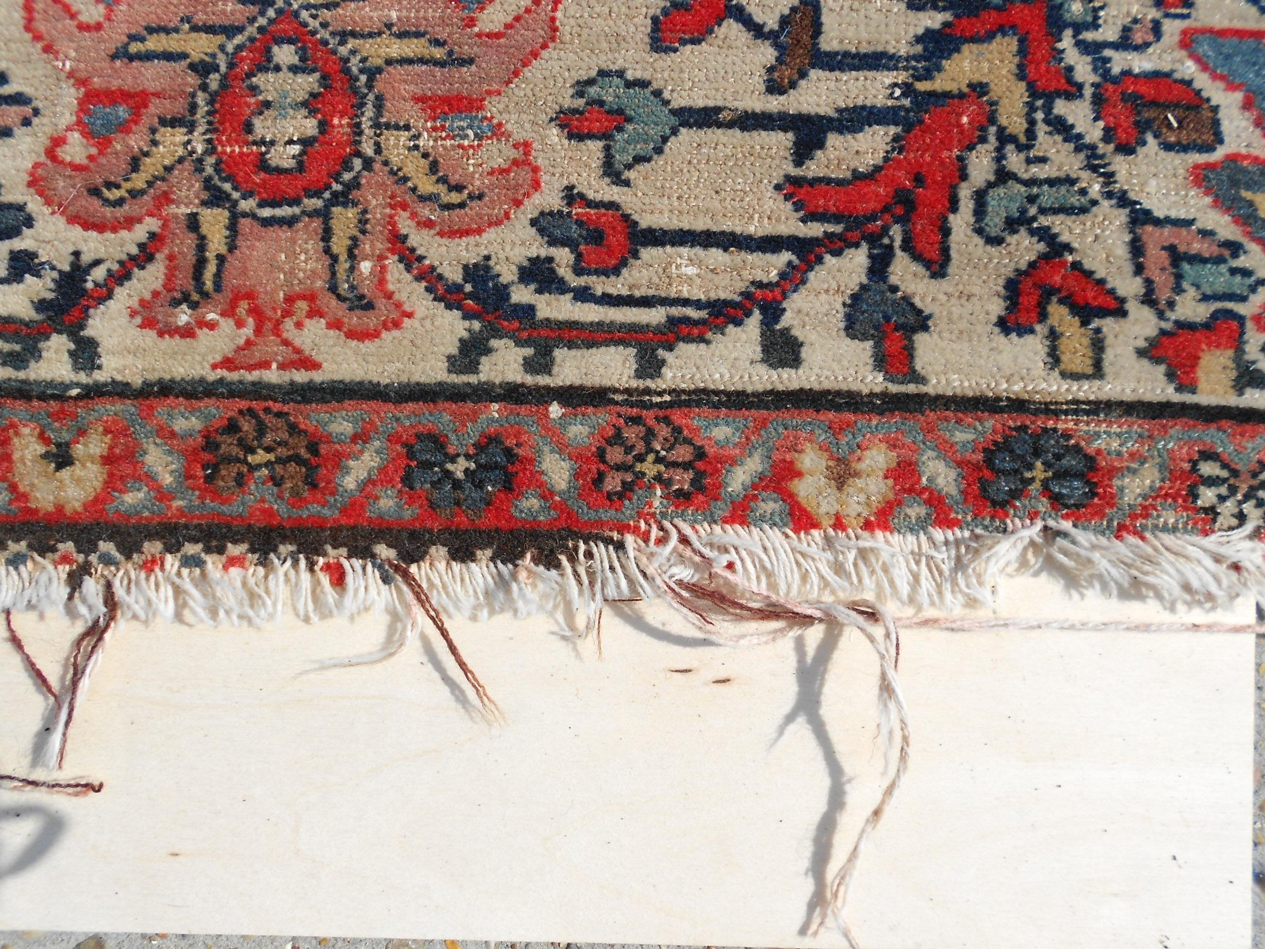 Persian Rug Fringe Repairs