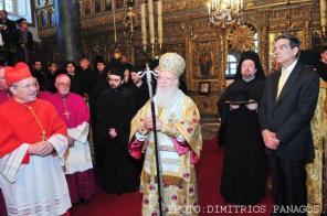 """Sărbătoarea Sfântului Andrei """"Cel întâi chemat"""" în Fanar"""