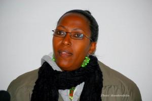Madame Minisitiri w'ububanyi n'amahanga, Immacule Uwizeye Kansiime, yaganiye na Radio Umubano
