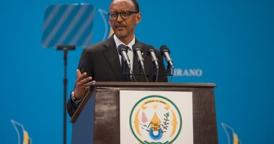 Uko Kalisa McDowell abona amagomba yavuzwe na Paul Kagame