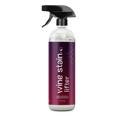 The Stain Lifter wine stain bottle