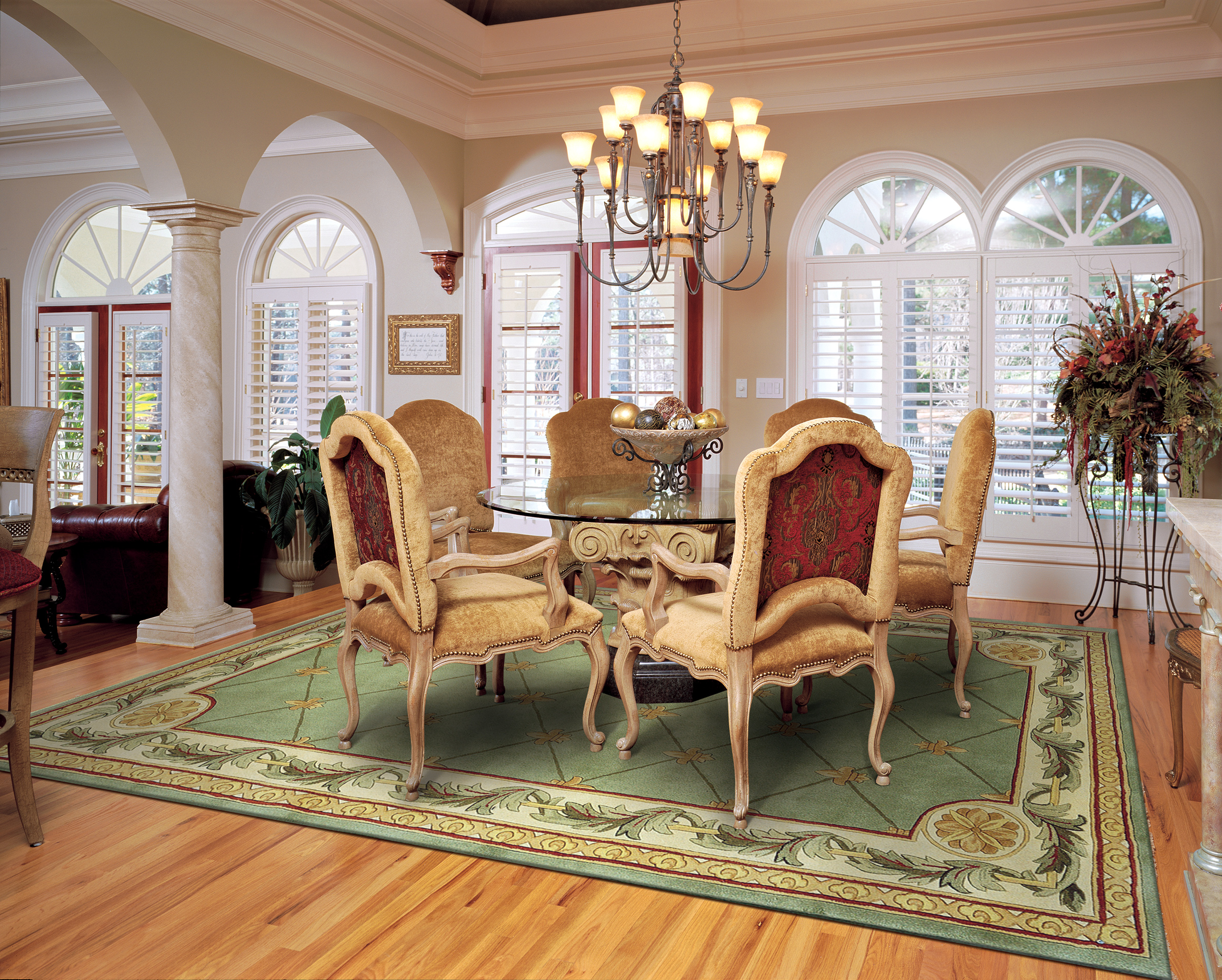 The Best Size For Your Dining Room Rug Rug Amp Home