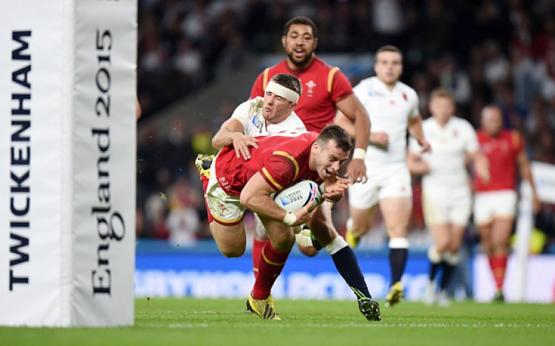 Rugby Union - Rugby World Cup 2015 - Pool A - England v Wales - Twickenham Stadium