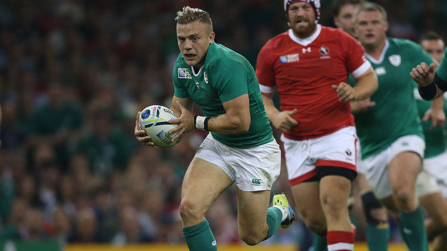 2015 Rugby World Cup Group B Millennium Stadium Cardiff 19/9/2015 Ireland vs Canada IrelandÕs Ian Madigan  Mandatory Credit ©INPHO/Billy Stickland