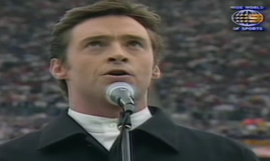 Watch: Hugh Jackman Used To Sing The Australian National Anthem At Rugby Games