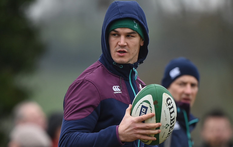 Joe Schmidt Reveals Why He Chose Sexton Over Jackson For France Game