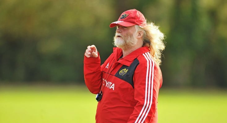 Former Munster Coach Laurie Fisher Has A New Coaching Job & It's Rugby At Its Best