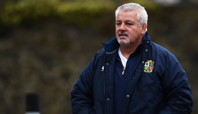 Warren Gatland Reveals The Lions' Drinking Rules This Summer