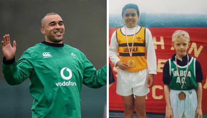 Simon Zebo Comes Back With Hilarious Response After Fan Finds Old Pic Of Him