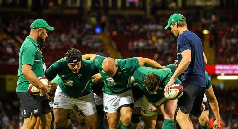 Mike Ross Recalls Brilliant Story Where An Irish Teammate Punched Him In A Scrum
