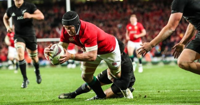 All Blacks Boss Steve Hansen Had Some Serious Praise For The Lions & That Try