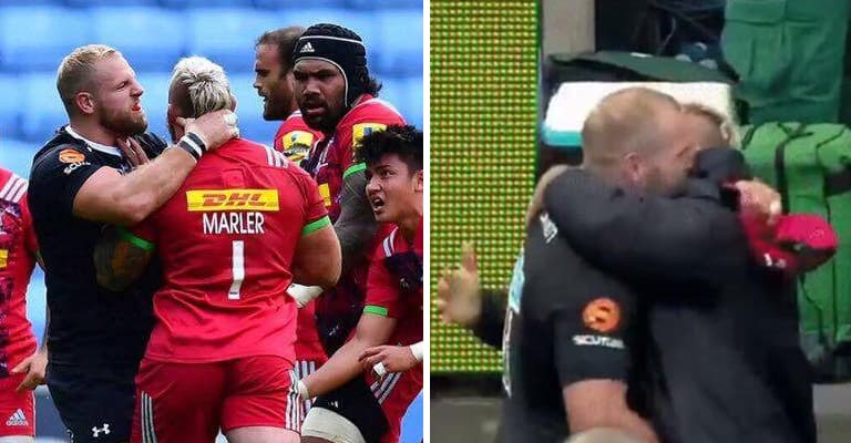 Watch: James Haskell Brilliantly Responds To Fans Who Trolled Him Over Marler Fight
