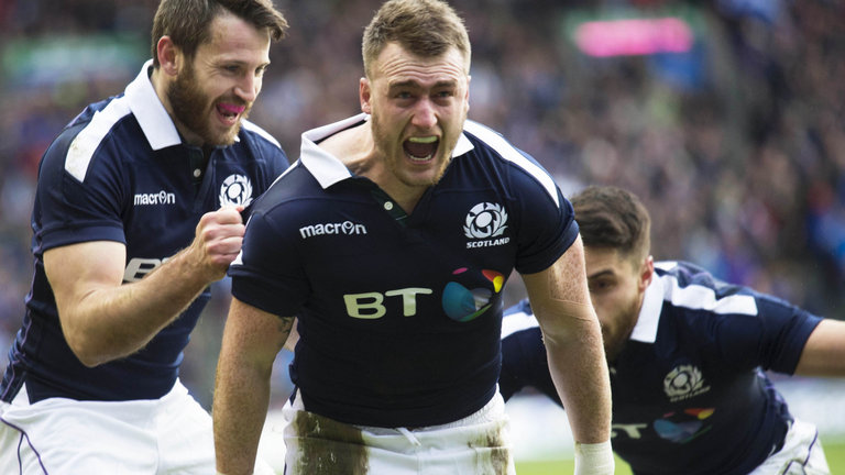 Scotland Fullback Stuart Hogg Unveiled By New Club