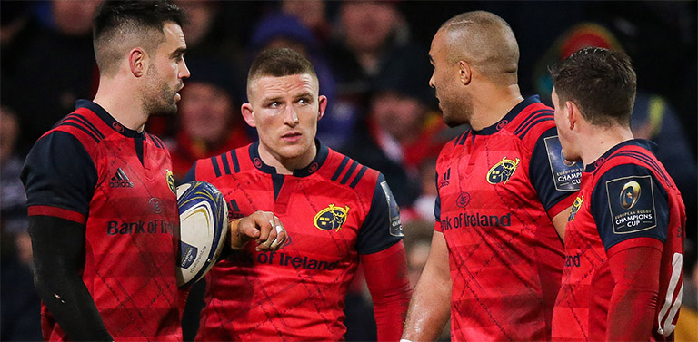 Munster Head Coach Johann van Graan On His Main Man For This Weekend