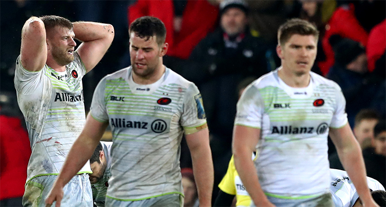 Saracens told to comply with cap or be relegated