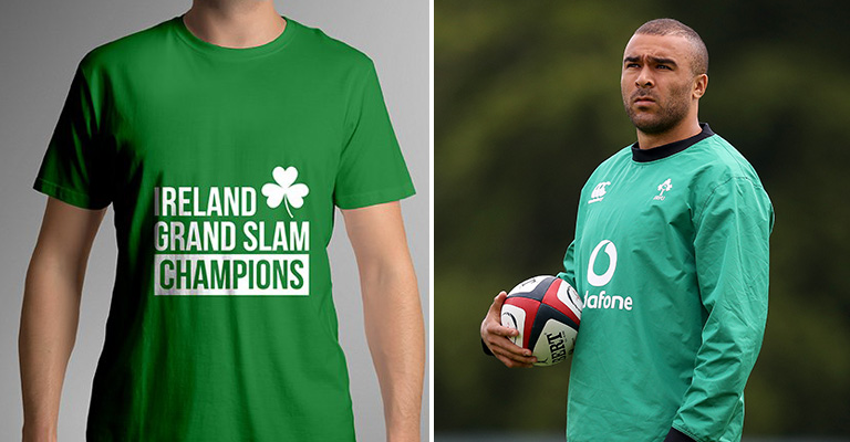 Simon Zebo Brilliantly Reacts To UK Company Congratulating Him On 'Grand Slam Win'