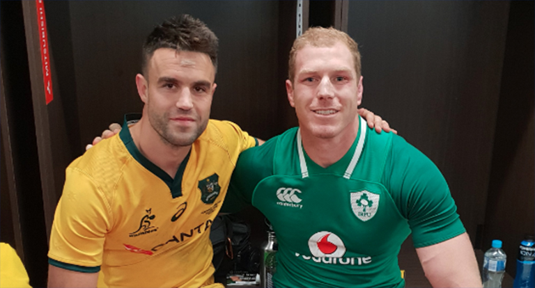 David Pocock Shares Incredible Conor Murray Story From Them As Schoolboys
