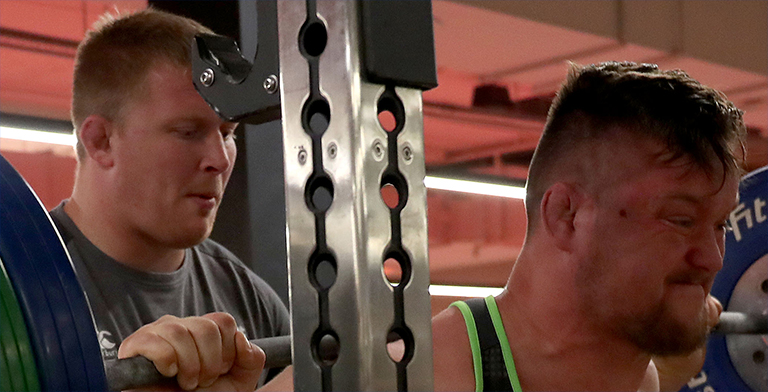 Have You Seen How Much Andrew Porter Can Squat In The Gym?