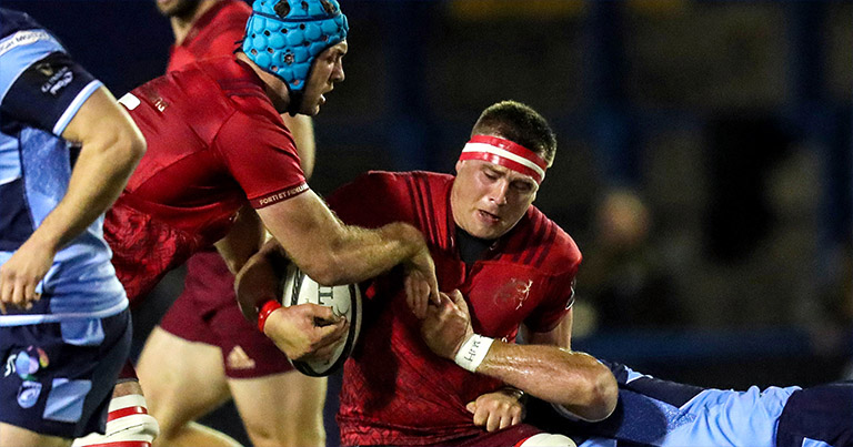 It Looks Like CJ Stander Picked Up A Nasty Broken Nose In Munster's Loss To Cardiff