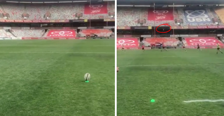 WATCH: Ulster Star Sinks Placekick From 60m With Absolute Ease
