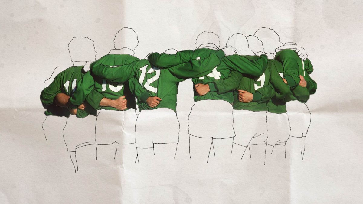 The Incredible Reaction To Brian O'Driscoll's Shoulder To Shoulder Documentary