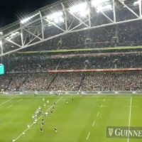 Spine-Tingling Video As The Fields Of Athenry Rings Out In The Aviva Stadium