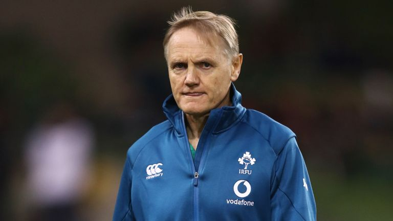 Joe Schmidt Turns Down All Blacks Approach To Remain With Ireland