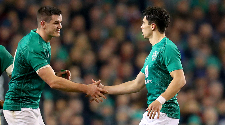 Joe Schmidt On Why Sexton Starts & Joey Carbery Doesn't Make The Squad
