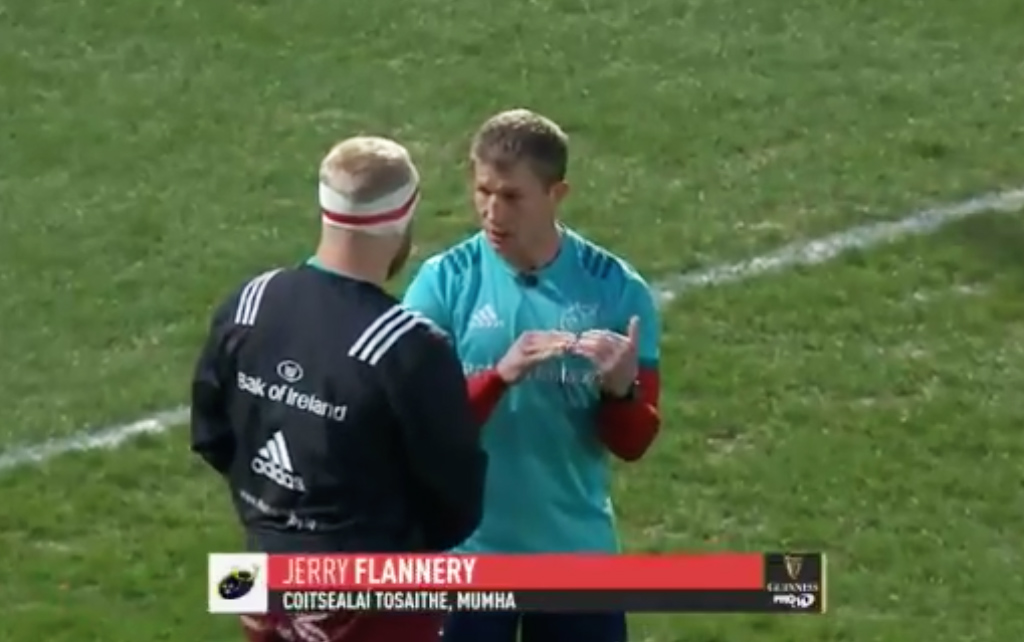 WATCH: Jerry Flannery Was Mic'd Up Again For Munster's Game Against Zebre