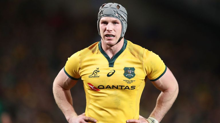 Australia captain Michael Hooper rested as one of 10 changes for Georgia