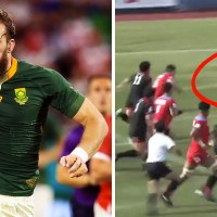 WATCH: Munster Bound Lock RG Snyman Is Running Absolute Riot In Japan