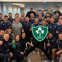 The Irish Rugby Lads Had A Couple Of Very Special Guests In Camp This Week